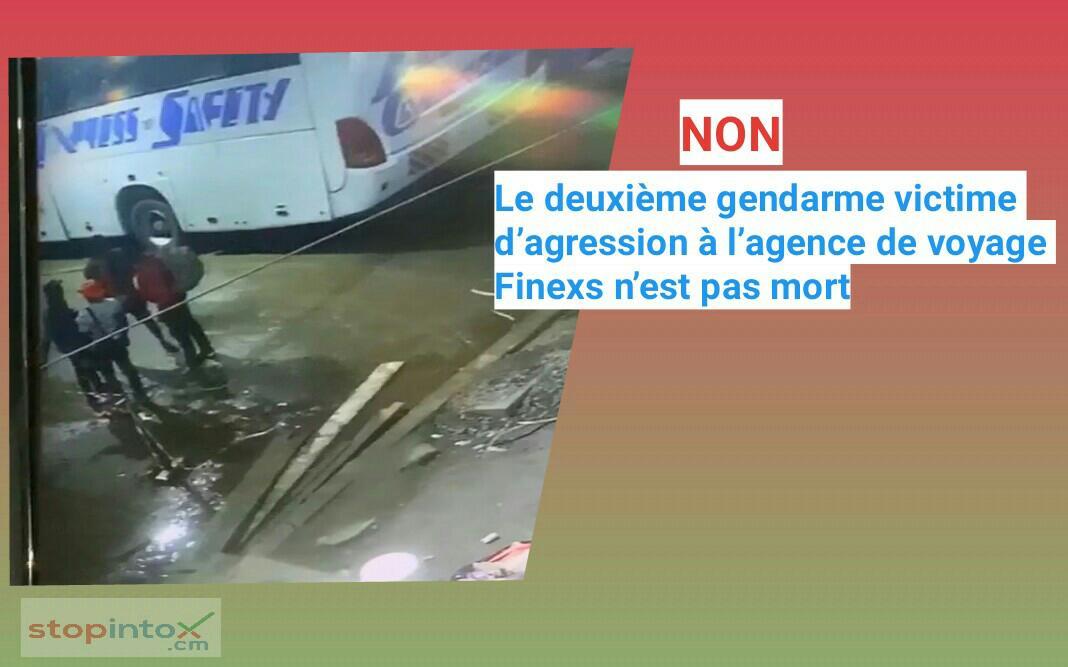 Non, le deuxième gendarme victime d'agression à l'agence de voyage Finexs n'est pas mort
